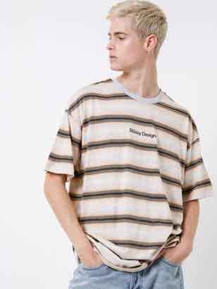 Stussy Design Stripe Short Sleeve T-Shirt