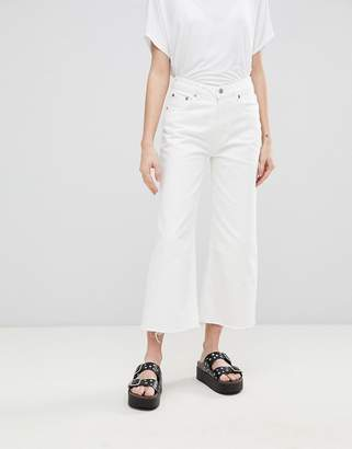 Cheap Monday Mid Rise Relaxed Fit Cut Off Jean
