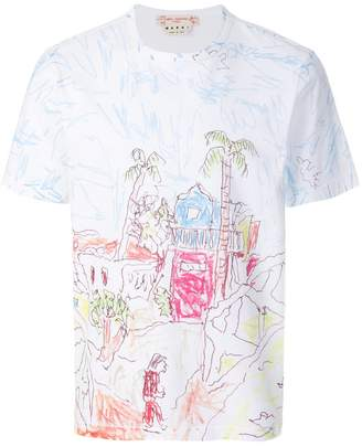 Marni Magdalena Suarez printed T-shirt