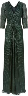 Jenny Packham Tana Sequin Embellished Gown