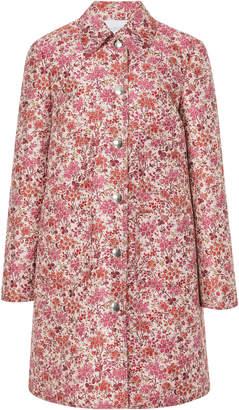 Giambattista Valli Knee Length Floral Coat