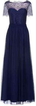 Little Mistress Overlay Maxi Dress