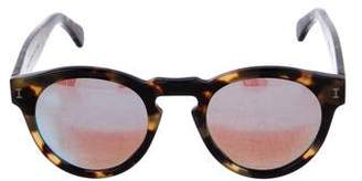 Illesteva Leonard Mirror-Metallic Sunglasses