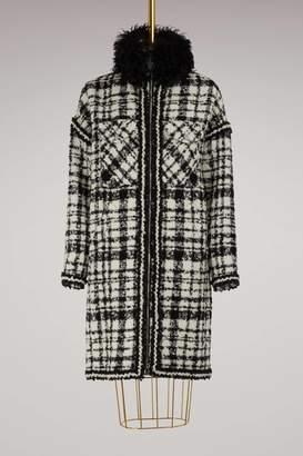 Moncler Gamme Rouge Ludmilia alpaca coat