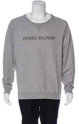 Pierre Balmain Graphic Print Sweatshirt