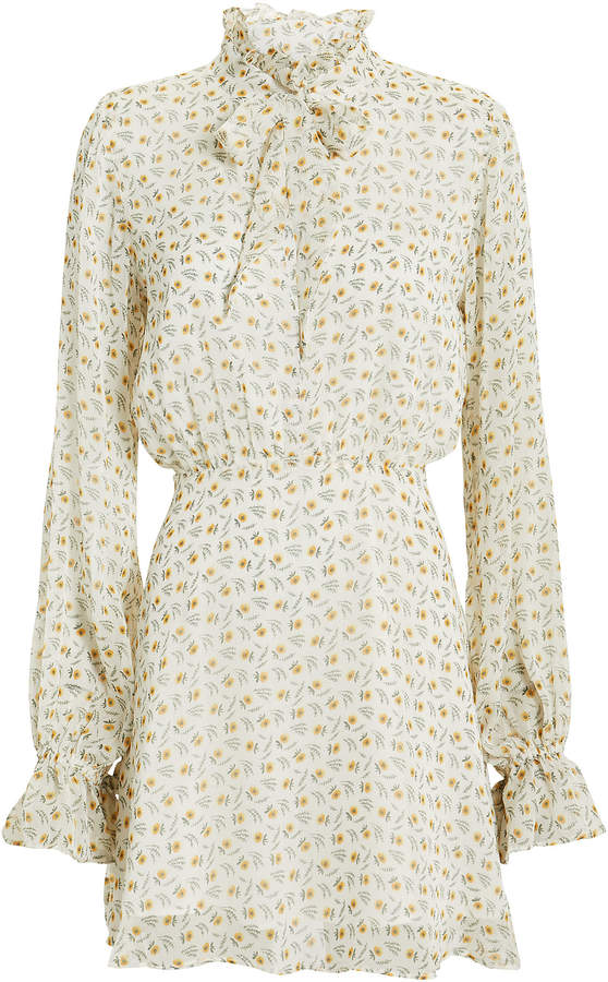 The East Order Jackie Floral Mini Dress