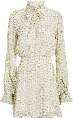 Intermix The East Order Jackie Floral Mini Dress