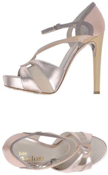 John Galliano Platform sandals
