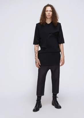 Rick Owens Sculpture Knit Minishred Top