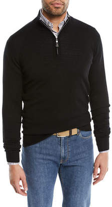 Peter Millar Men's Crown Soft Half-Zip Sweater