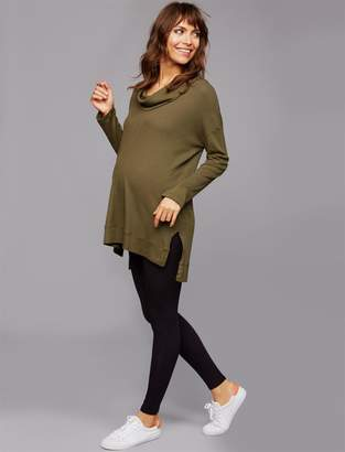 A Pea in the Pod Under Belly Rayon Maternity Leggings