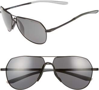 Nike Outrider 62mm Oversize Aviator Sunglasses