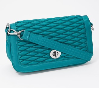 Lug Bubble Quilted Crossbody Bag - Allegro