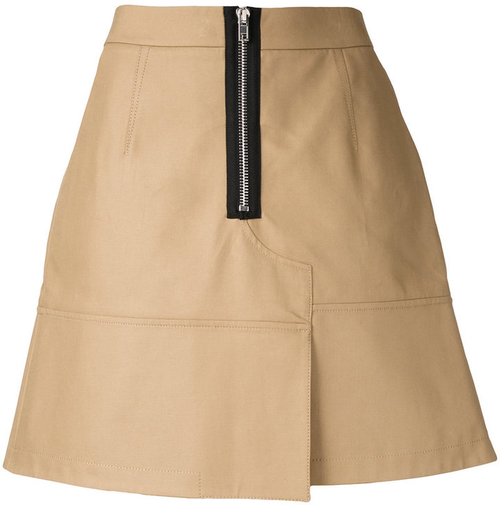 Alexander WangAlexander Wang mini skirt with zip