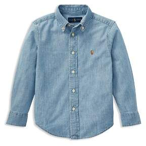 Ralph Lauren Boys' Chambray Button-Down Shirt - Little Kid