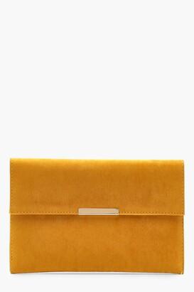 boohoo Envelope Clutch And Bar