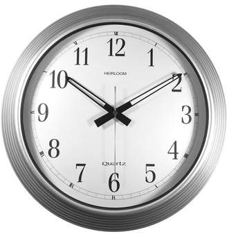 Latitude Run Siggers Zinc 16 Wall Clock