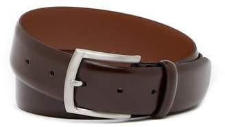 Bosca Textured Leather Dress Belt