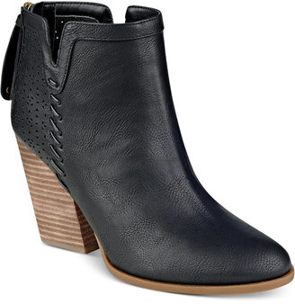 Tommy Hilfiger Lyra Western Booties $99 thestylecure.com
