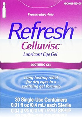 Refresh Celluvisc Lubricant Eye Gel Single-use Containers 30 Ea $16.07 thestylecure.com