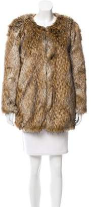 Calypso Chamois Faux Fur Jacket