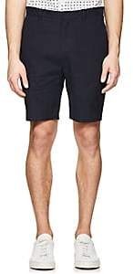 Theory MEN'S EVAN LINEN-BLEND SHORTS-NAVY SIZE 34