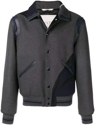 Valentino tiger intarsia bomber jacket