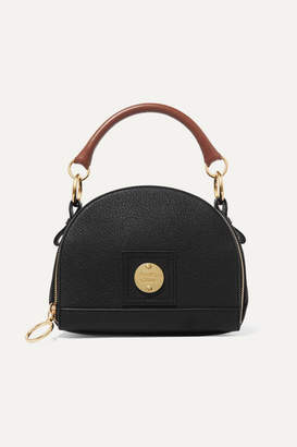 See by Chloe Eddy Textured-leather Shoulder Bag - Black