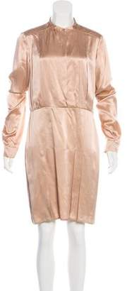 Stella McCartney Pleated Silk Dress