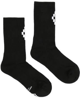 Marcelo Burlon County of Milan Cross Cotton Socks