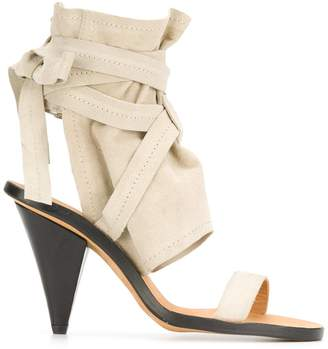 IRO Woman Suede Sandals Size 38