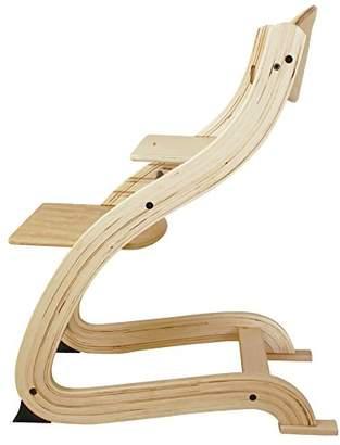 Grandeur (グランドール) - 曲げ木をつかった北欧スタイルのスタイリッシュなデザイン ウッドハイチェア ナチュラル 746018