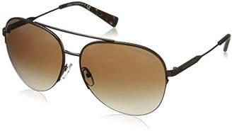 Armani Exchange Men's Metal Man Aviator Sunglasses