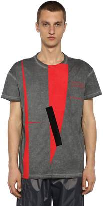 A-Cold-Wall* Gallery Print Washed Jersey T-Shirt
