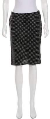 Valentino Polka Dot Skirt