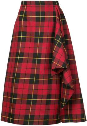 Michael Kors draped skirt