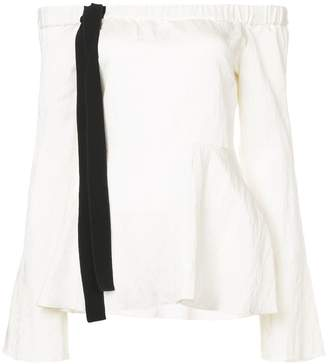 Derek Lam 10 Crosby Off The Shoulder Top