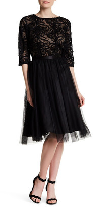 Marina Two Piece Soutache Shirt and Skirt $199 thestylecure.com