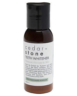 Cedar And Stone Women's Organic Teeth Whitener 30Gms Birch Green