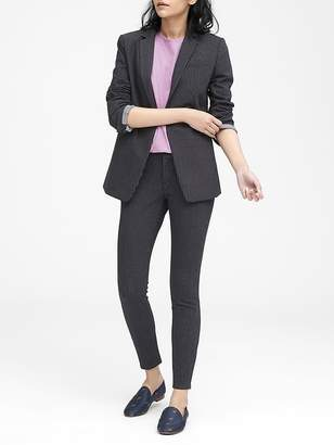 Banana Republic Petite Long and Lean-Fit Long and Lean-Fit Pinstripe Blazer