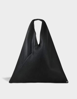 MM6 MAISON MARGIELA Japanese Bag in Black Net