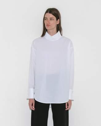 MM6 MAISON MARGIELA White Parachute Poplin Shirt