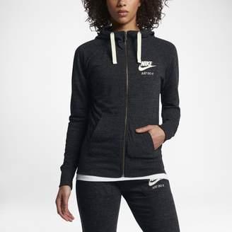 at Nike · Nike Sportswear Gym Vintage Women s Full-Zip Hoodie 9160a1a46f