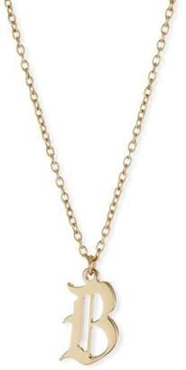 Jennifer Zeuner Jewelry Emmanuelle Gothic Pendant Necklace