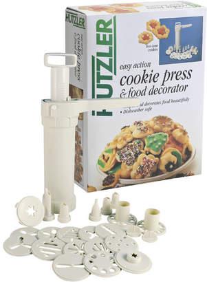 Hutzler Easy Action Cookie Press with Bonus Extra Barrel