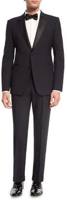Armani Collezioni M Line Two-Piece Tuxedo Suit, Navy