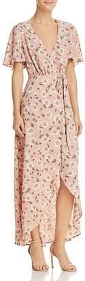 Show Me Your Mumu Marianne Maxi Wrap Dress - 100% Exclusive