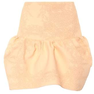 Chloé Jacquard miniskirt