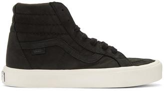 Vans Black Nubuck Sk8-Hi Reissue Lite LX Sneakers $140 thestylecure.com