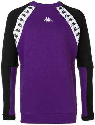 Kappa logo band sweatshirt